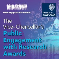 Poster: The Vice-Chancellor's Public Engagement with Research Awards
